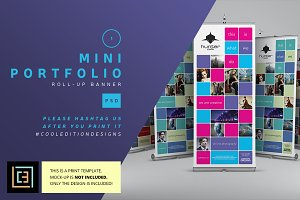 Mini Portfolio - Roll-Up Banner 1