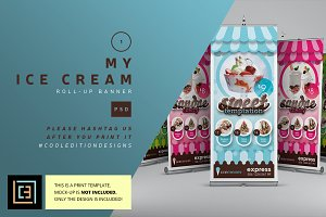 My Ice Cream - Roll-Up Banner