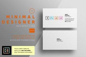 Minimal Designer - Business Card 72