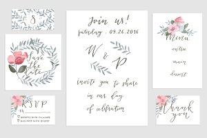 Save the date cards collection