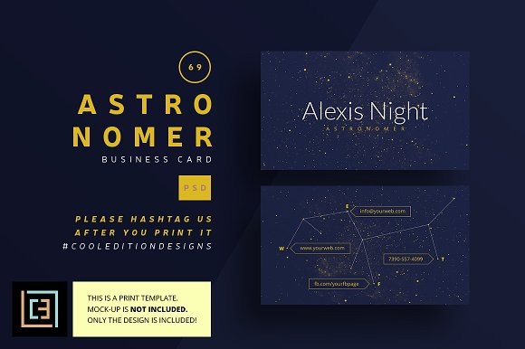 Astronomer business card 69 business card templates creative astronomer business card 69 business card templates creative market colourmoves