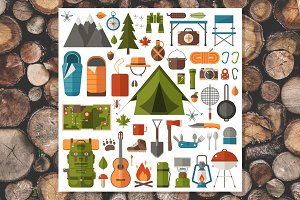 Hiking and Camping Set