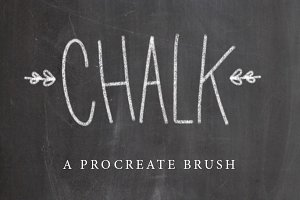 Chalk Procreate Brush