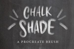Chalk Shade Procreate Brush