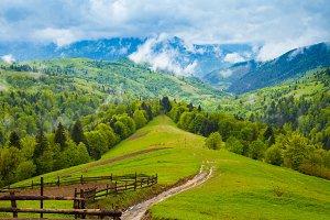 Amazing beautiful mountains