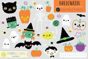 Halloween Clip Art | Raster