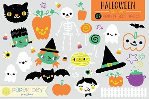 Halloween Clip Art | Vector