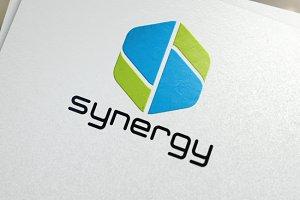 Letter S | Synergy Logo Template