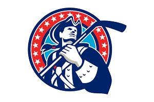 American Patriot Ice Hockey Stick