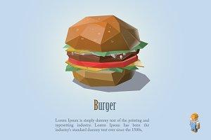 Vector burger