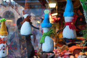 Funny snowmen toys