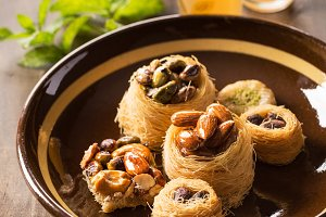 Traditional arabic pastry