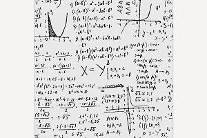 Seamless Formula Pattern