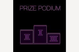 Prize Poduim