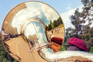Sousaphone musical instrument
