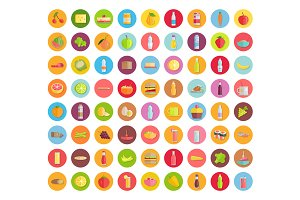 Big Collection of Food icons