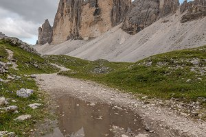 Tre Cime di Lavaredo mountains