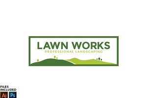 Landscaping Logo Template Vol. 1