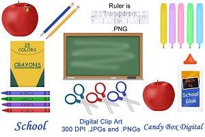 20 School Clip Art
