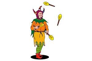 Jester Juggling