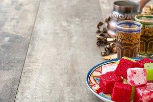 Turkish delights and tea