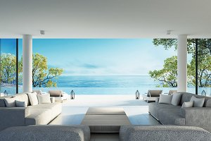 Beach living and Sea view