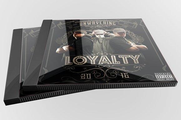 Loyalty Hip Hop Music Mixtape Cover