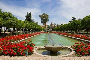 Gardens at the Alcazar in Cordoba
