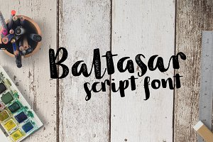 Baltasar - 2 fonts