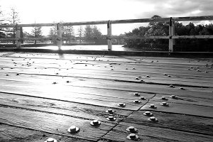 Old bridge - Brunswick Heads