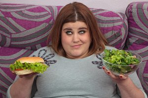 Woman in diet dilemma