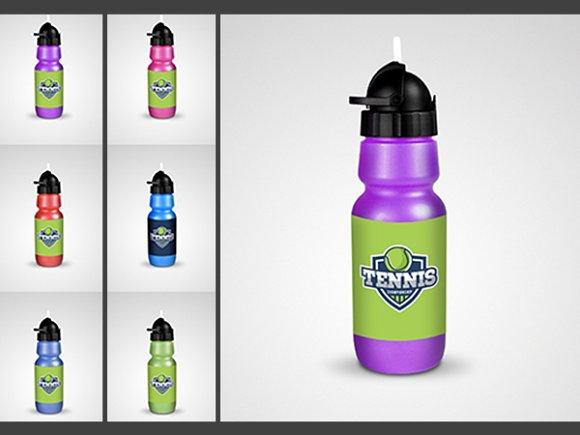 Download Water Bottle Mock-up Fitness Shaker