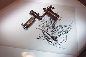 Tattoo accessories consist