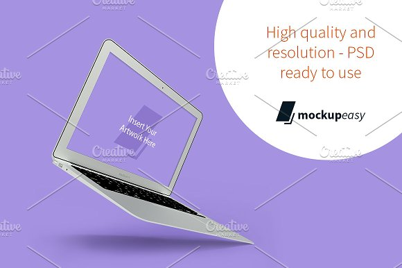 Download macBook Air Mockup