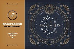 ♐ Sagittarius Zodiac sign