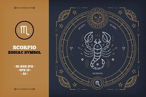 ♏ Scorpio Zodiac sign