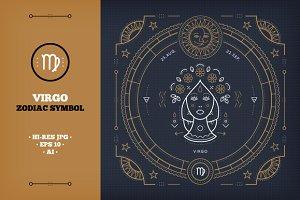 ♍ Virgo Zodiac sign