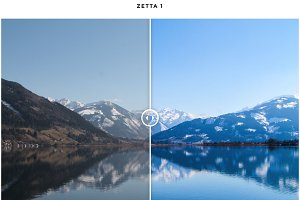 Zetta Adobe Lightroom Presets by HLO