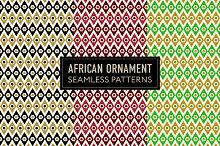 African Seamless Patterns