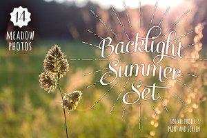Backlight Summer Photo Set - 14 HRs