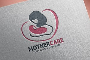 Mother Logo Template