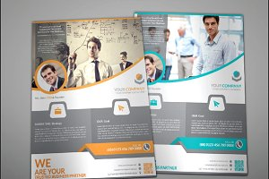 Candha Corporate Flyer Template