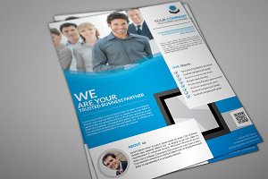 Conloa Corporate Flyer Template