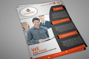 Donkle Corporate Flyer Template