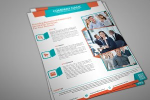 Fanbi Corporate Flyer Template