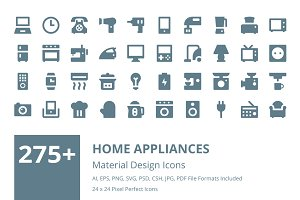 275+ Home Appliances Material Icons