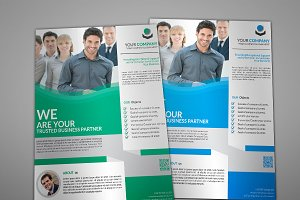 Govel Corporate Flyer Template
