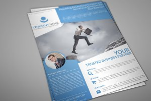Kanturi Corporate Flyer Template