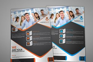 Lenhox Corporate Flyer Template