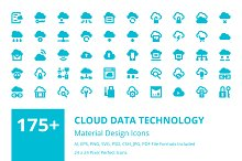 175+ Cloud Data Technology Icons